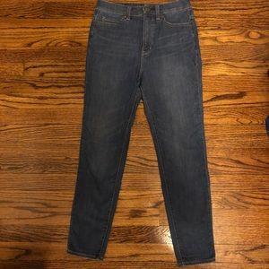 UNIQLO Ultra Stretch High Rise Skinny Jeans